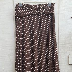 Robert Louis O-Ring Maxi Skirt Size Medium